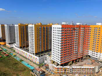 Общий вид жилого комплекса Краски жизни